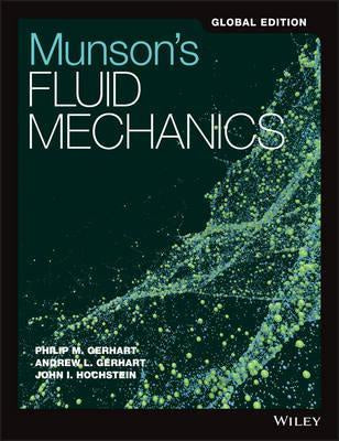 MUNSON'S FLUID MECHANICS GLOBAL EDITION