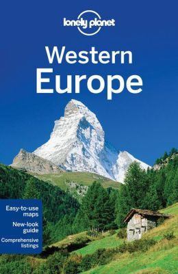 WESTERN EUROPE LONELY PLANET TRAVEL GUIDE - Charles Darwin University Bookshop