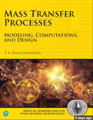 MASS TRANSFER PROCESSES