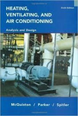 HEATING VENTILATION & AIR CONDITIONING ANALYSIS & DESIGN - Charles Darwin University Bookshop