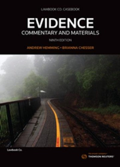 EVIDENCE COMMENTARY AND MATERIALS 9TH EDITION