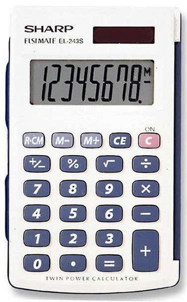 CALCULATOR SHARP POCKET EL-234SB - Charles Darwin University Bookshop