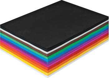 PAPER SINGLE SHEET A4 210 X 297MM 125GSM ASSORTED COLOURS - Charles Darwin University Bookshop