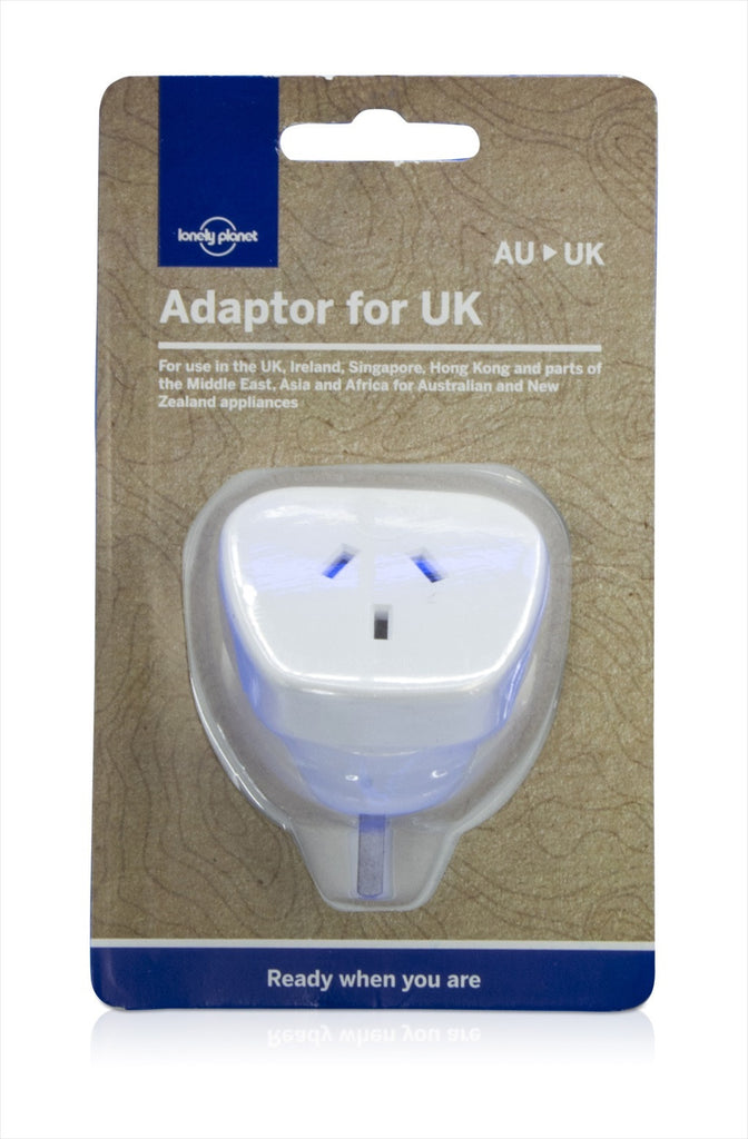 POWER ADAPTOR FOR UK - Charles Darwin University Bookshop  - 3