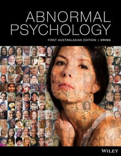 ABNORMAL PSYCHOLOGY 1ST EDITION PRINT AND INTERACTIVE E-TEXT