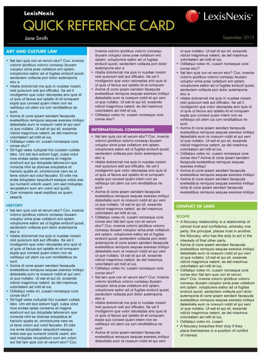 BUSINESS ETHICS QUICK REFERENCE CARD - Charles Darwin University Bookshop