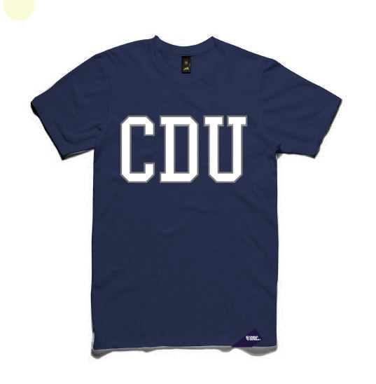 CDU T-SHIRT MENS - Charles Darwin University Bookshop  - 1