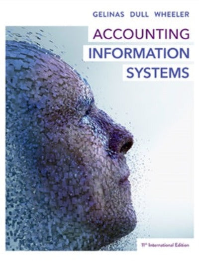 ACCOUNTING INFORMATION SYSTEMS 11TH INTERNATIONAL EDITION