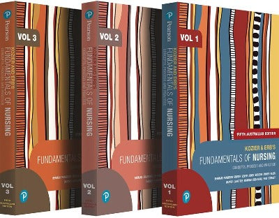 KOZIER AND ERB'S FUNDAMENTALS OF NURSING, VOLUMES 1-3, 5TH EDITION