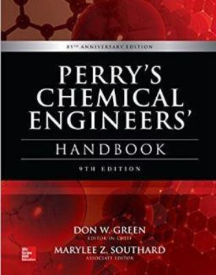 PERRY'S CHEMICAL ENGINEERS' HANDBOOK 9TH EDITION