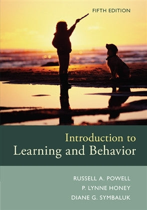 INTRODUCTION TO LEARNING AND BEHAVIOR - Charles Darwin University Bookshop