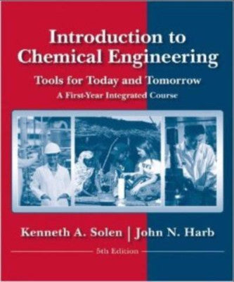INTRODUCTION TO CHEMICAL ENGINEERING - Charles Darwin University Bookshop