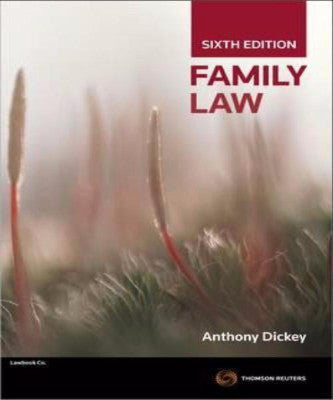 FAMILY LAW - Charles Darwin University Bookshop