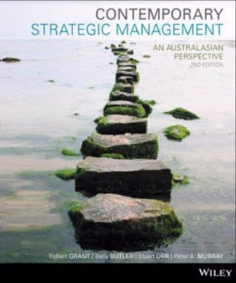 CONTEMPORARY STRATEGIC MANAGEMENT AN AUSTRALIASIAN PERSPECTIVE 2E - Charles Darwin University Bookshop