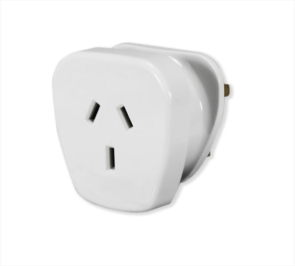 POWER ADAPTOR FOR UK - Charles Darwin University Bookshop  - 1