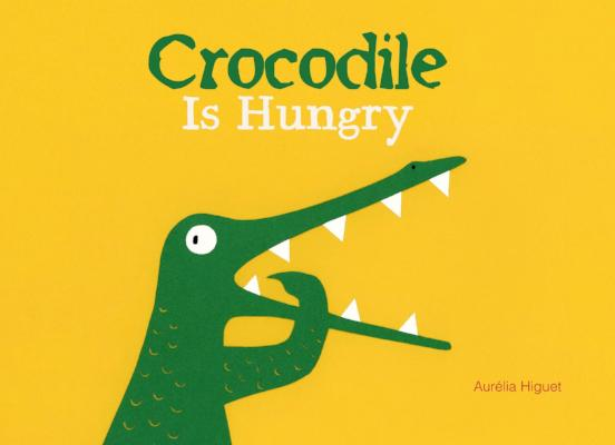 CROCODILE IS HUNGRY