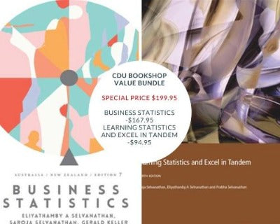 BUSINESS STATISTICS: AUSTRALIA NEW ZEALAND WITH STUDENT RESOURCE ACCESS FOR 12 MONTHS & LEARNING STATISTICS AND EXCEL IN TANDEM VALUE BUNDLE