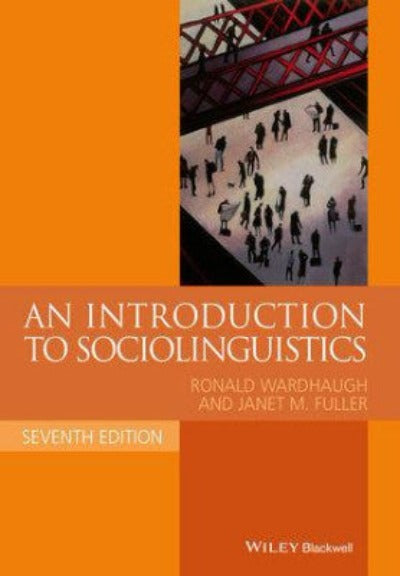 INTRODUCTION TO SOCIOLINGUISTICS - Charles Darwin University Bookshop