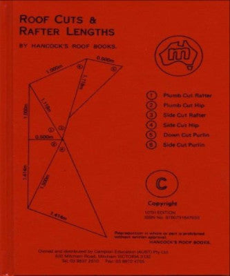 ROOF CUTS & RAFTER LENGTHS - Charles Darwin University Bookshop