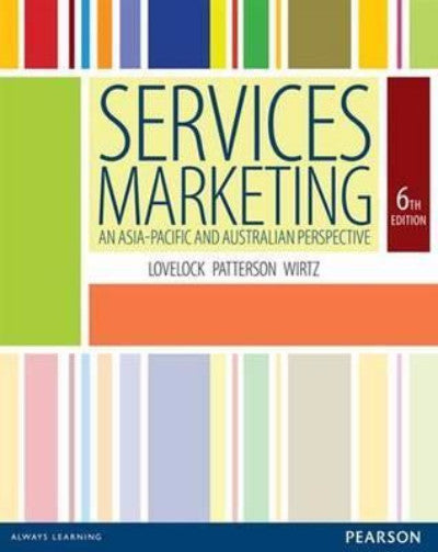SERVICES MARKETING ASIA PACIFIC PERSPECTIVE - Charles Darwin University Bookshop