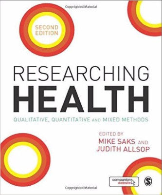 RESEARCHING HEALTH QUALITATIVE QUANTITATIVE & MIXED METHODS - Charles Darwin University Bookshop