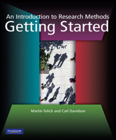 GETTING STARTED AN INTRODUCTION TO RESEARCH METHODS - Charles Darwin University Bookshop
