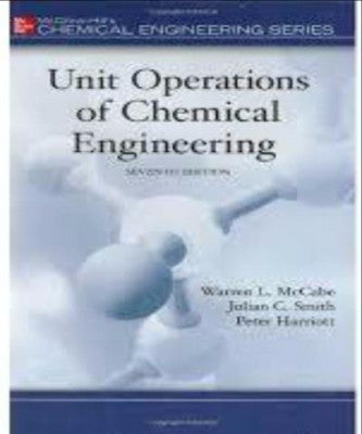 UNIT OPERATIONS OF CHEMICAL ENGINEERING - Charles Darwin University Bookshop