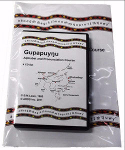 GUPAPUYNU ALPHABET & PRONUNCIATION COURSE PACK - Charles Darwin University Bookshop