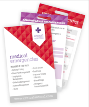 MEDICAL EMERGENCIES PACK - Charles Darwin University Bookshop