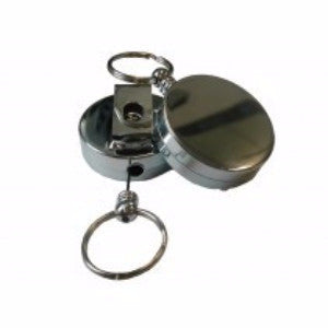 HEAVY DUTY RETRACTABLE REEL WITH KEY RING - Charles Darwin University Bookshop