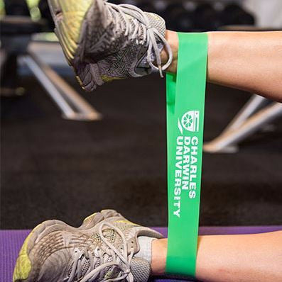 CDU PILATES BAND GREEN