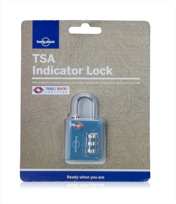TSA INDICATOR COMBINATION LOCK TEAL - Charles Darwin University Bookshop