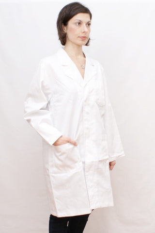 LAB COAT - WHITE - Charles Darwin University Bookshop