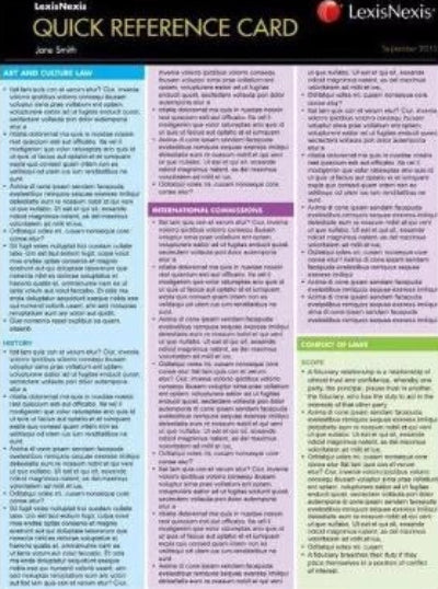 CORPORATIONS LAW CONSEQUENTIAL REMEDIES QUICK REFERENCE CARD