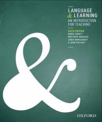 LANGUAGE & LEARNING: AN INTRODUCTION FOR TEACHING - Charles Darwin University Bookshop