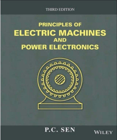 PRINCIPLES OF ELECTRIC MACHINES & POWER ELECTRONICS - Charles Darwin University Bookshop