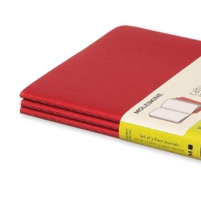 MOLESKINE - CAHIER NOTEBOOK - SET OF 3