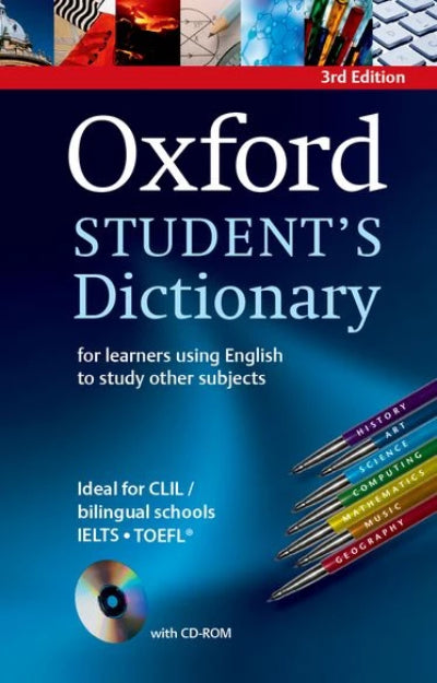 OXFORD STUDENT'S DICTIONARY WITH CD