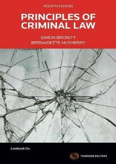PRINCIPLES OF CRIMINAL LAW  4TH EDITION
