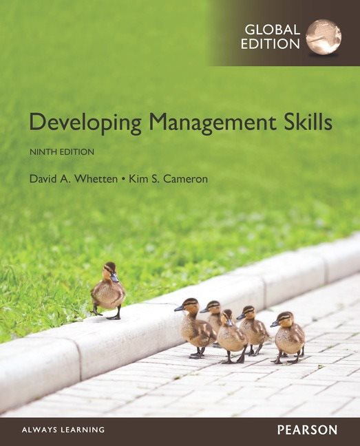 DEVELOPING MANAGEMENT SKILLS GLOBAL EDITION