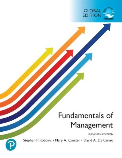 FUNDAMENTALS OF MANAGEMENT GLOBAL EDITION