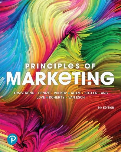 PRINCIPLES OF MARKETING 8TH EDITION