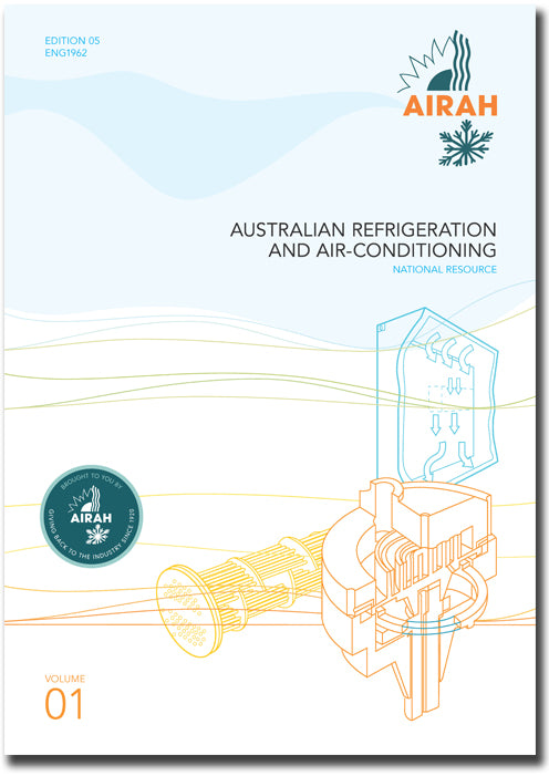AUSTRALIAN REFRIGERATION & AIR-CONDITIONING VOL 1 ENG1962
