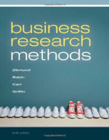 BUSINESS RESEARCH METHODS - Charles Darwin University Bookshop