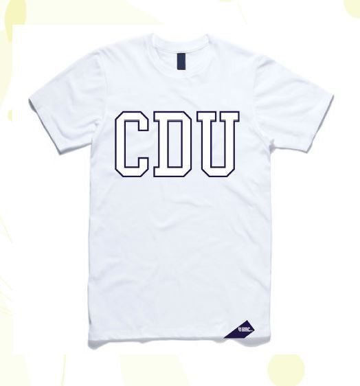 ddcb5a985 ... CDU T-SHIRT WOMENS - Charles Darwin University Bookshop - 1