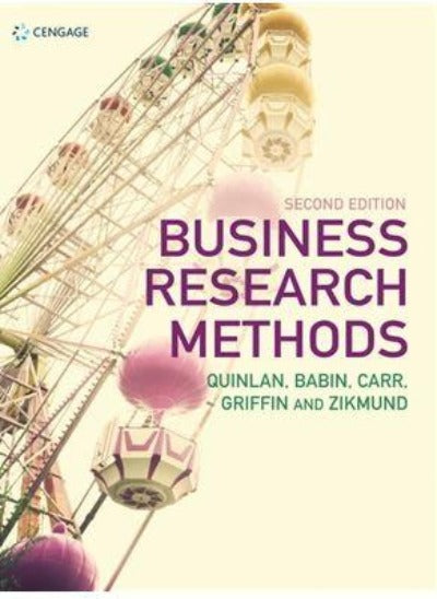 BUSINESS RESEARCH METHODS 2ND EDITION