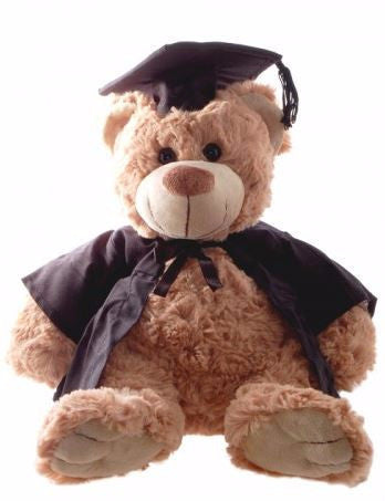 GRADUATION BEAR BROWN 32CM ROSIE - Charles Darwin University Bookshop