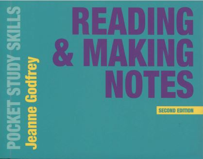 READING & MAKING NOTES