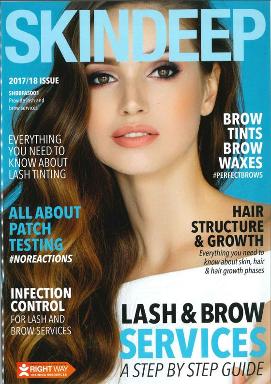 SHBBFAS001 - PROVIDE LASH AND BROW SERVICES