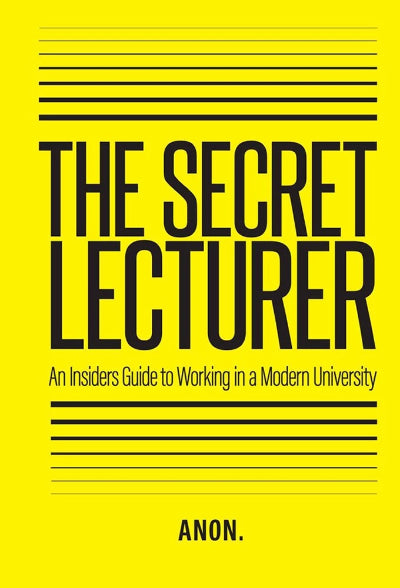 THE SECRET LECTURER: AN INSIDER'S GUIDE TO WORKING IN A MODERN UNIVERSITY